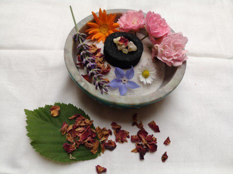 Blüten räuchern